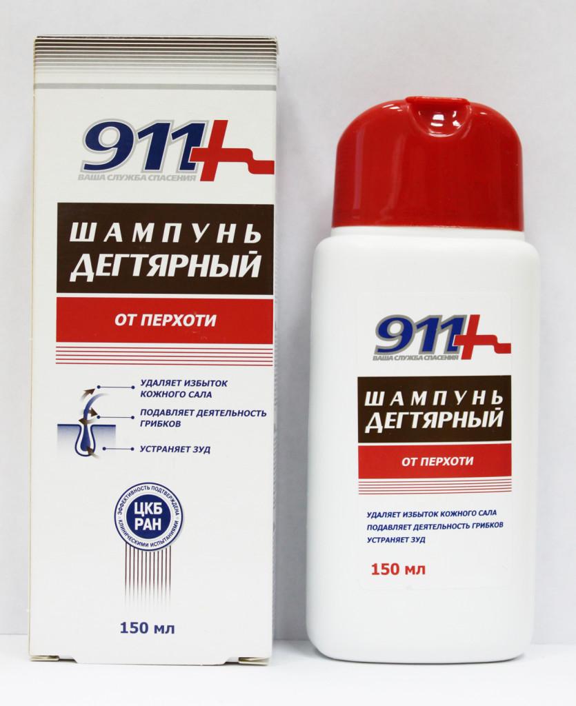 911 Шампунь дегтярный от перхоти