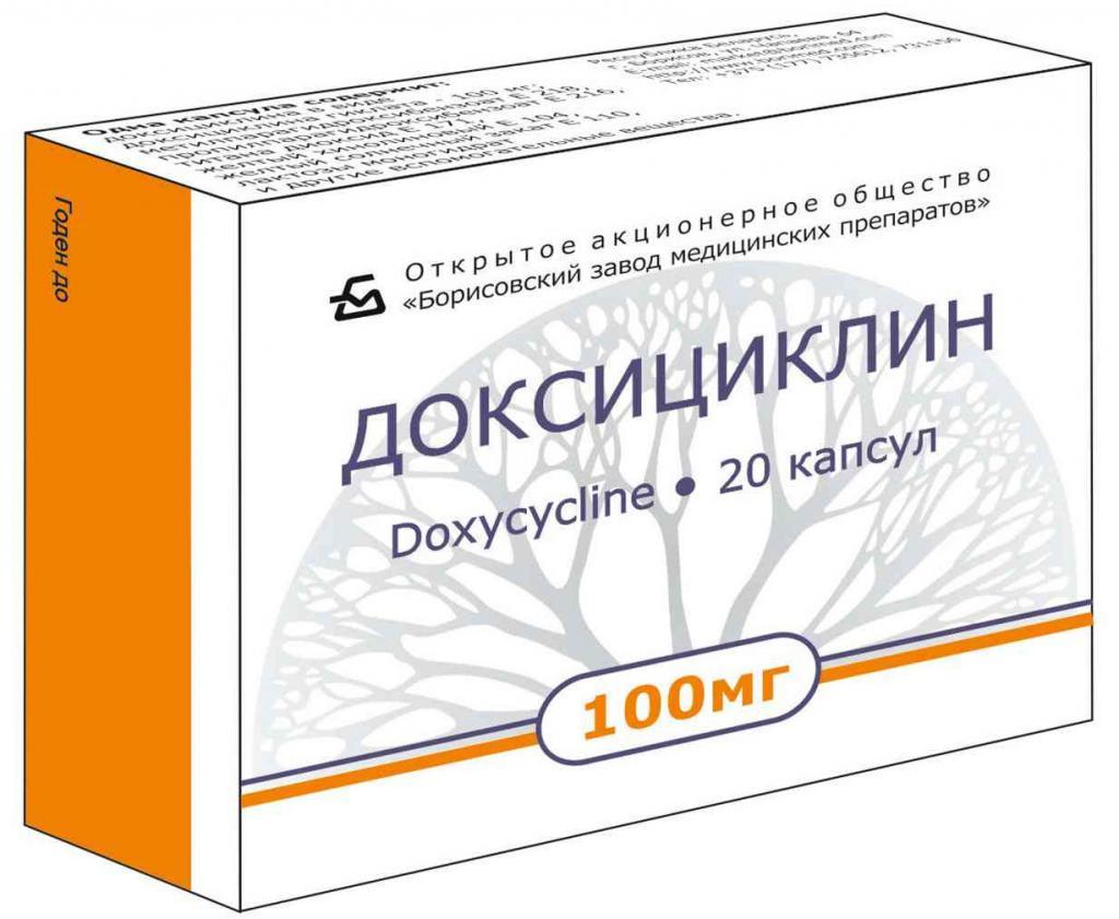 доксициклин инструкция цена описание препарата