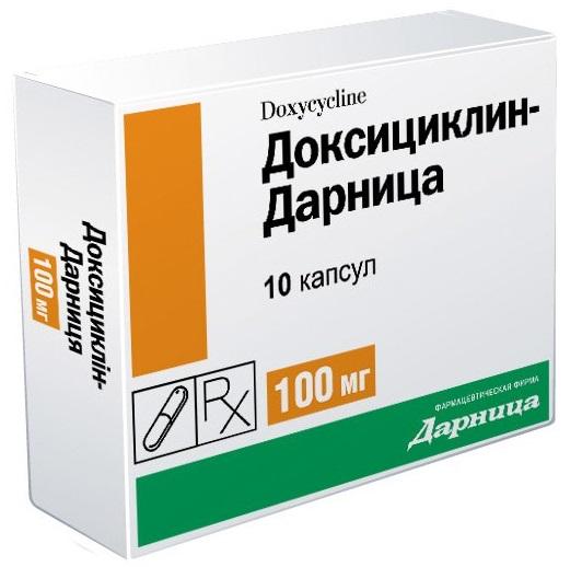 антибиотик доксициклин инструкция по применению