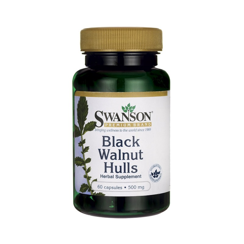 БАД black walnut hulls 500 mg