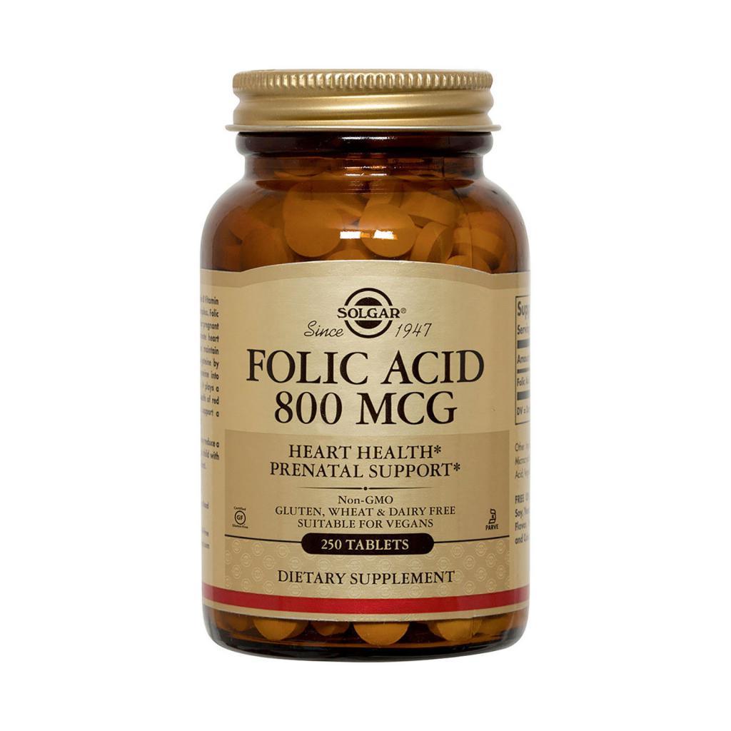 Что такое фолиевая кислота, для чего она нужна и что ее содержит?