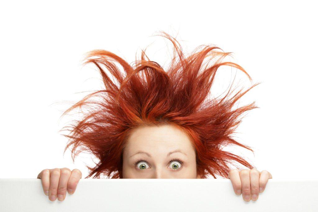 волосы смешной рисунок способы устранения проблем