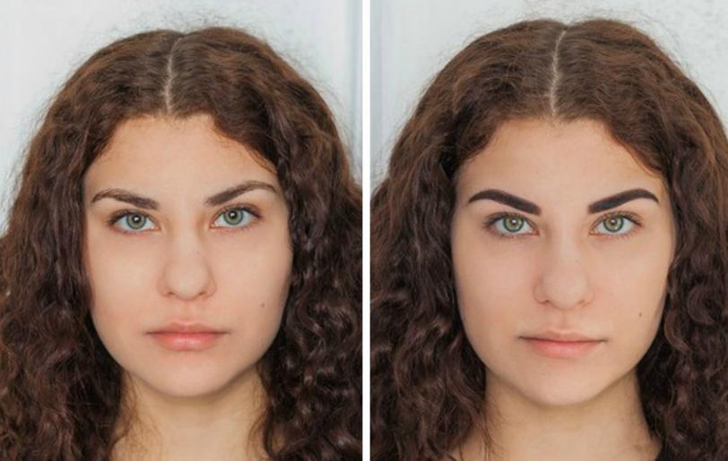 СС Броу фото до и после