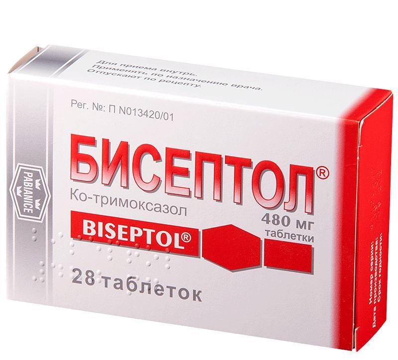 бисептол таблетки инструкция состав