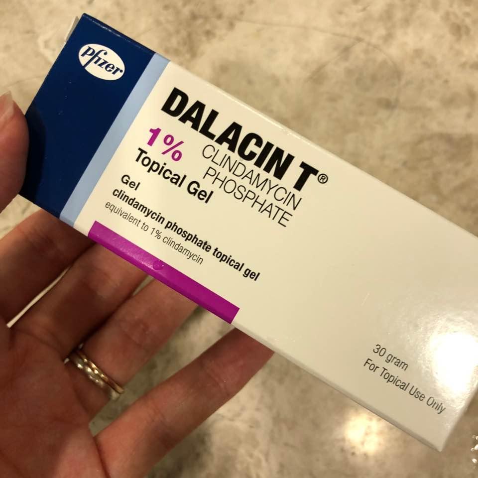 Далацин мазь от прыщей