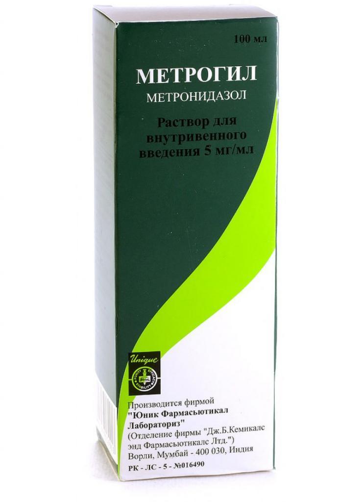 метрогил капельница