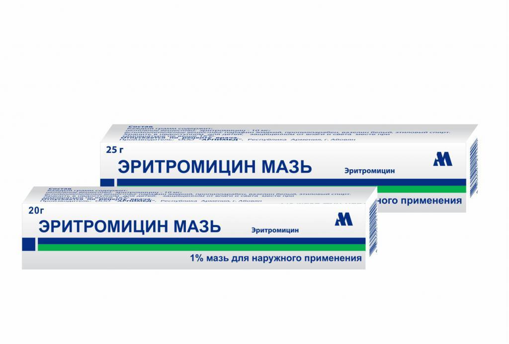 Эритромицин — глазная мазь: инструкция поприменения, отзывы олечении детей, аналоги ицены