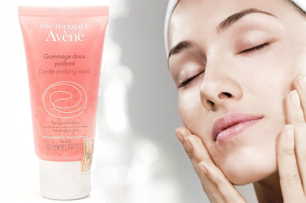 Avene Gentle purifying scrub (скраб Авен)