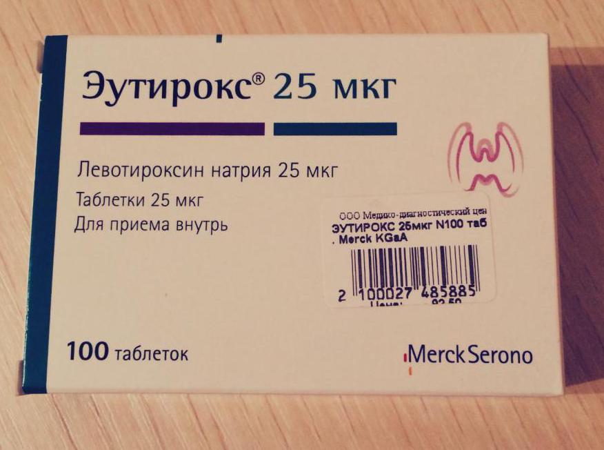 противопоказания к приему эутирокса