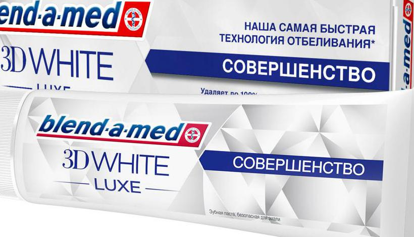 3D White Luxe «Совершенство» от Blend-a-Med