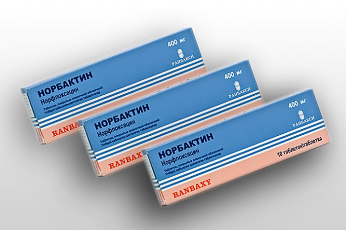 Норбактин для чего применяют